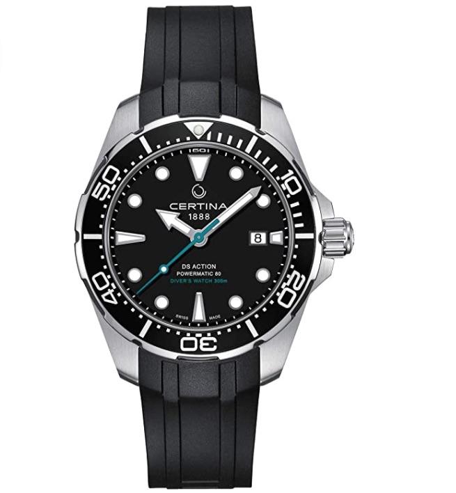 Certina DS Action Diver Powermatic 80 Special Edition: Increíbles relojes de lujo por menos de $1000