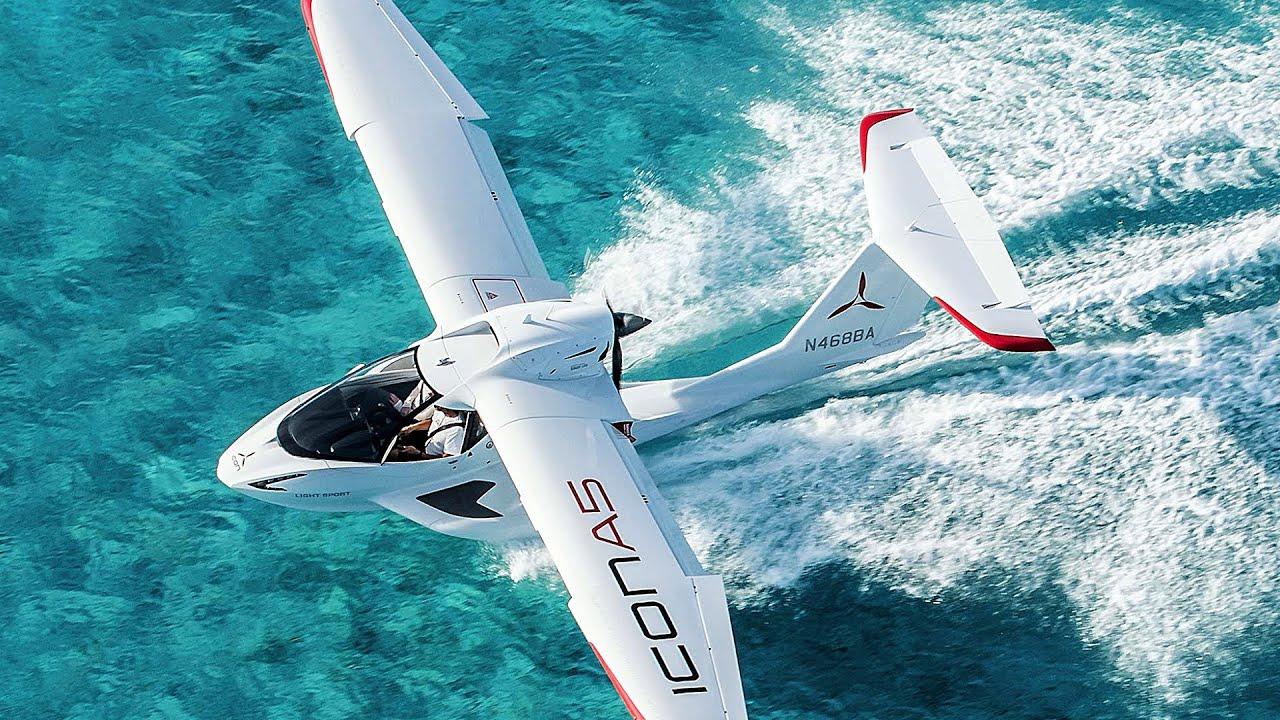Cómo volar un hidroavión deportivo ICON A5