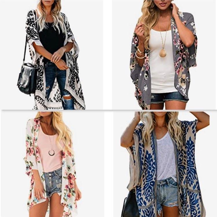Kimonos: 6 tendencias de moda para este verano y que no debes dejar de usar.