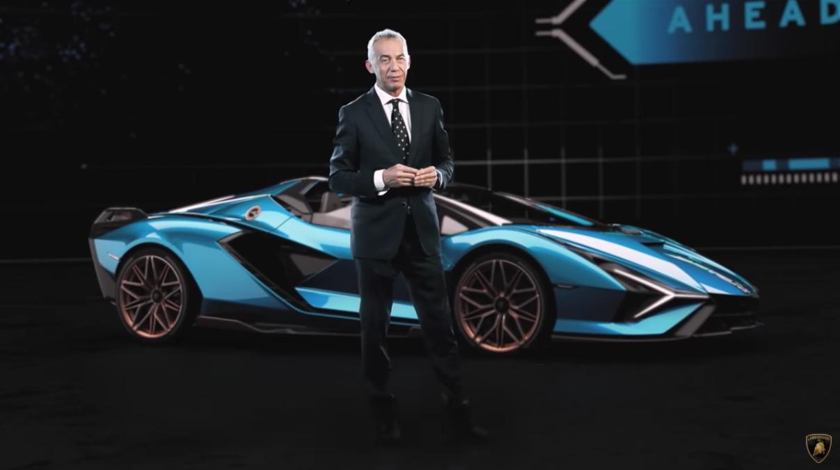Maurizio Reggiani presenta el Lamborghini  Sián Roadster