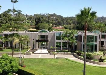 The Glazer Estate: Mansión moderna en Beverly Hills, California a la venta por $70 millones.
