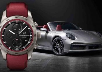 Un cronógrafo de Porsche Design con diseño personalizado