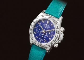 Este exclusivo Rolex Cosmograph Daytona se vendió por $3,27 millones en una subasta Sotheby's