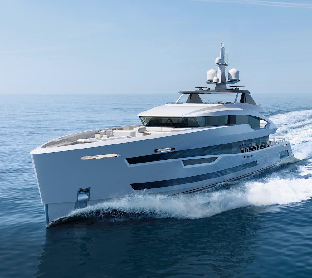 Superyate Akira: una elegante y funcional embarcación a la espera de un comprador
