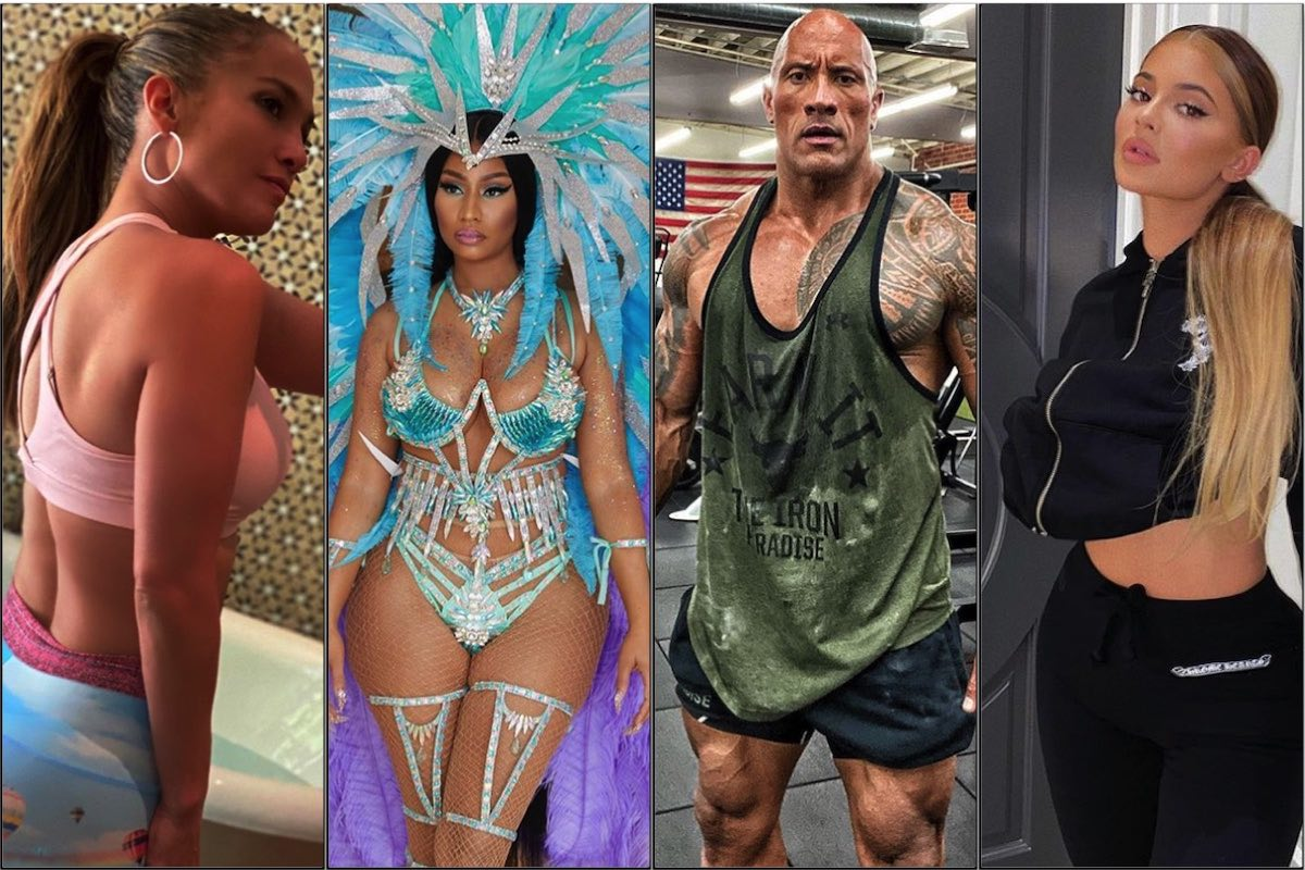 """Comandando $1 millón por publicación, """"The Rock"""" es el nuevo Rey de Instagram; TOP 10 de las celebridades mejor pagadas de Instagram"""