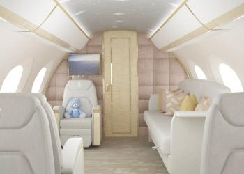 Lo último en jets privados: Así es la primera guardería infantil voladora del mundo