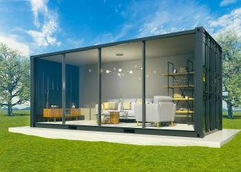 Casa contenedor de lujo
