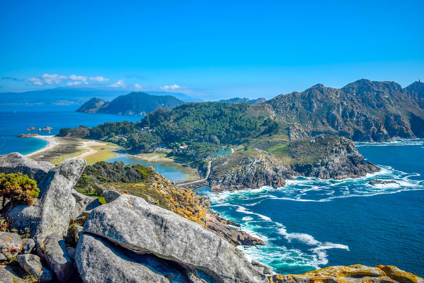 Islas Cíes, Vigo, España