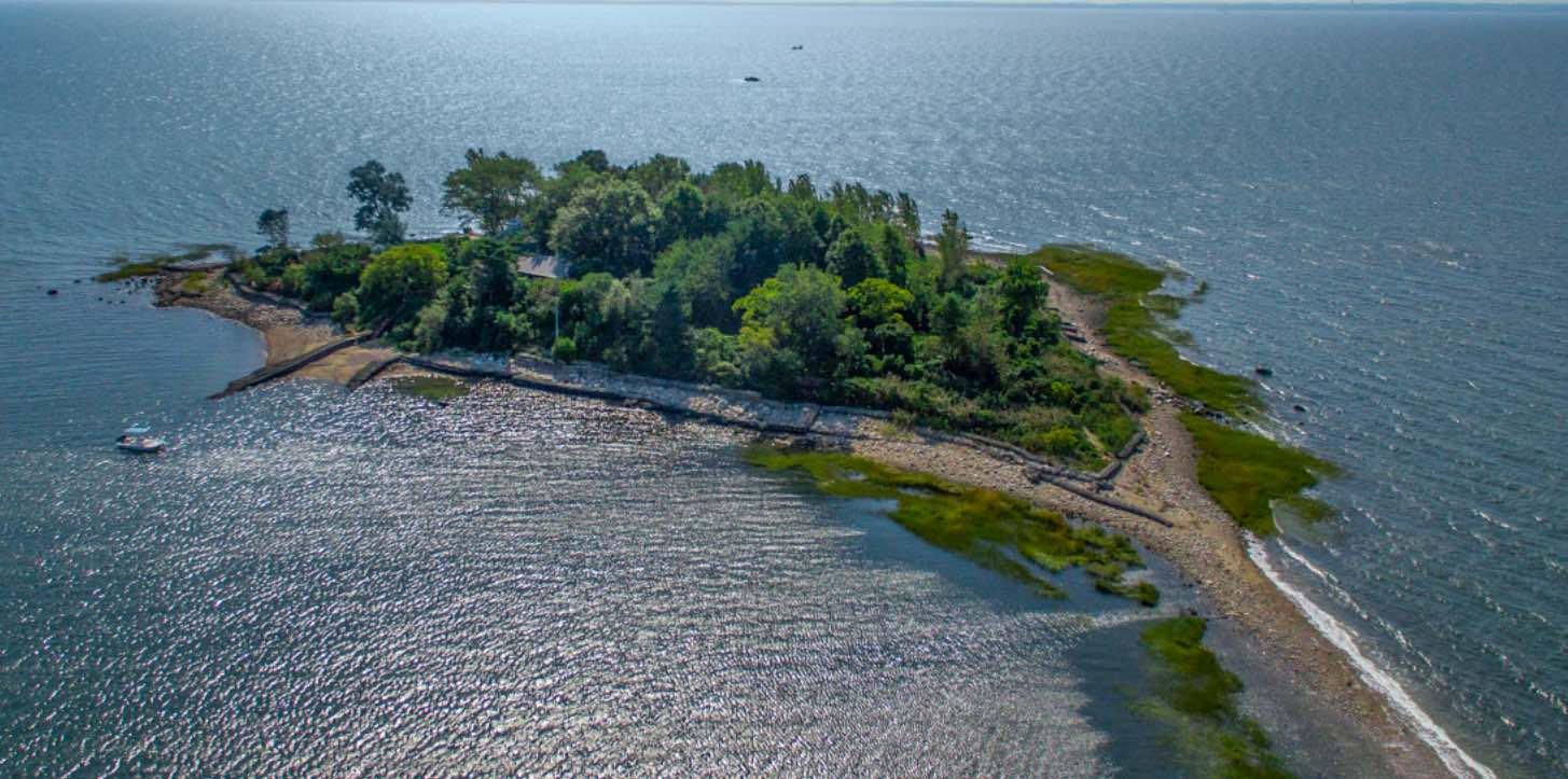 Inmaculada isla privada de 6 acres cerca de la ciudad de Nueva York se vende por 2,5 millones de dólares