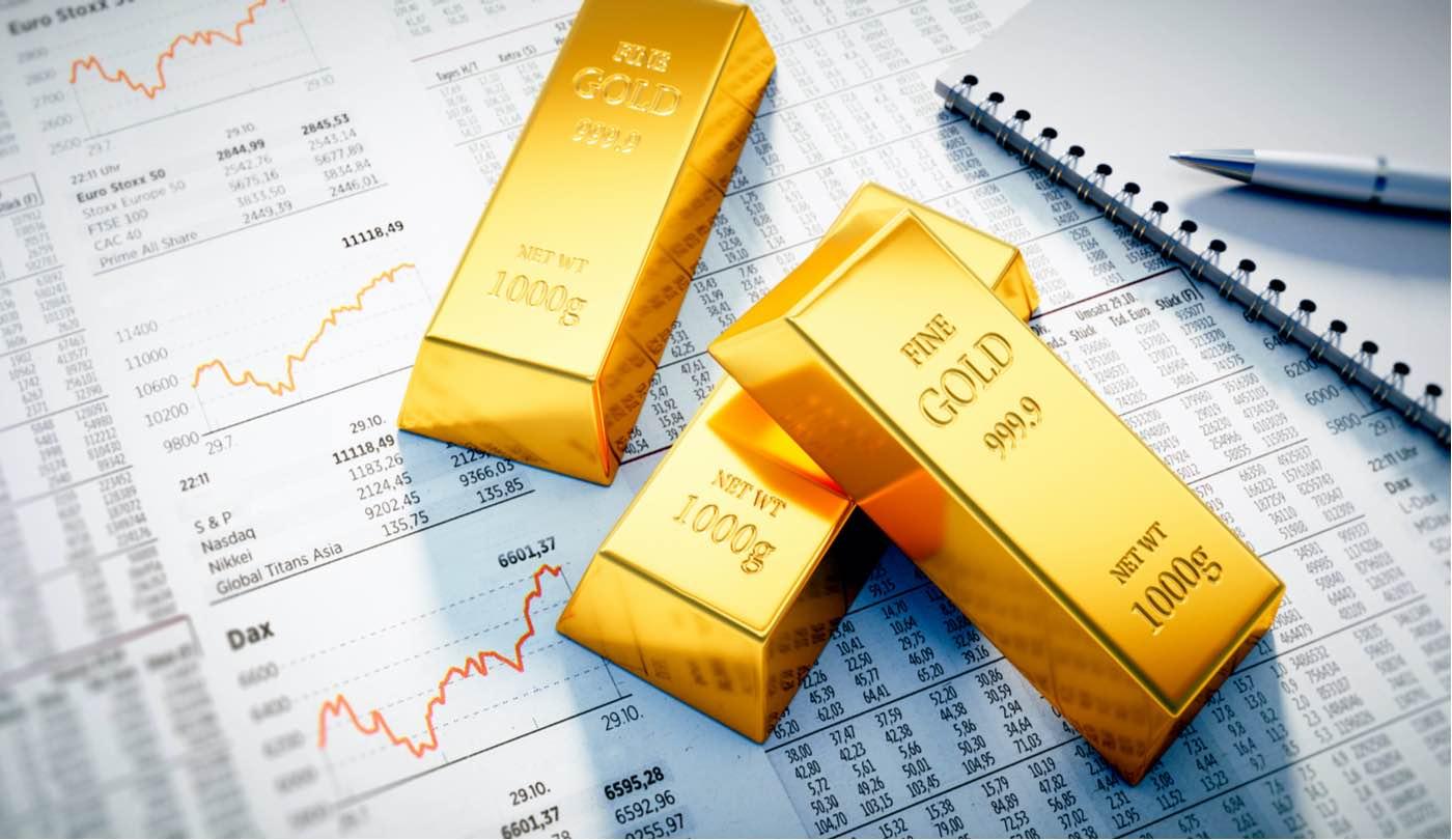 Oro en el mercado de valores