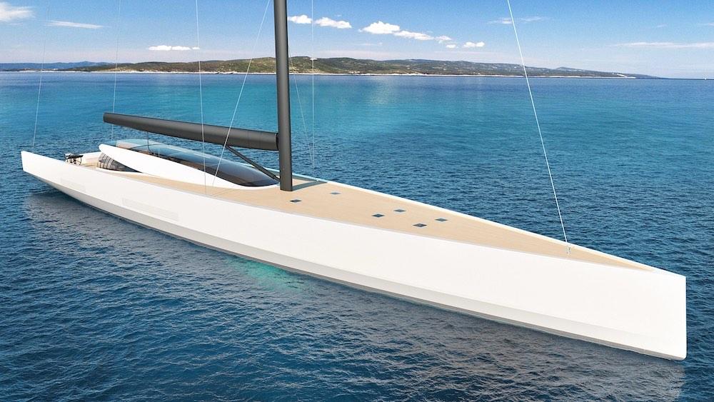 Philippe Briand presenta el nuevo concepto de yate de vela SY200