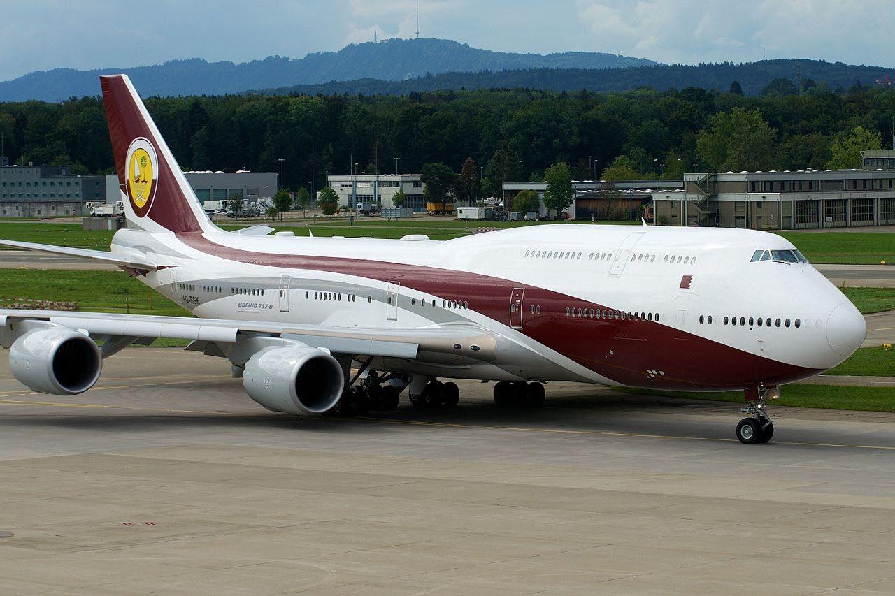Jet privado Boeing 747-8