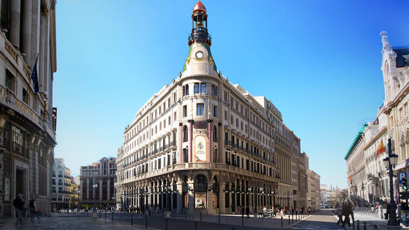 Four Seasons Hotel Madrid acepta reservas a partir del próximo 15 de septiembre, fecha prevista para su esperada apertura