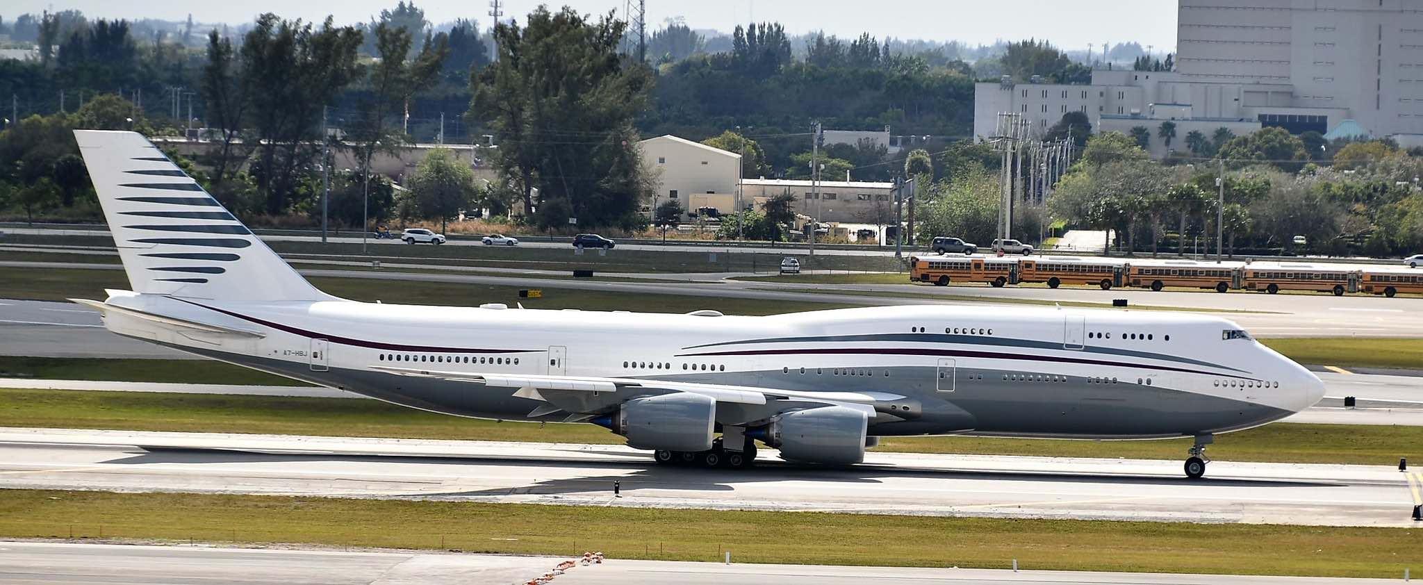 Jet privado Boeing 747-8i