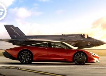 McLaren Speedtail vs F-35 Lightning II