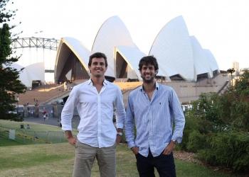 Fundadores de GrowPro, Goiko y Pablo