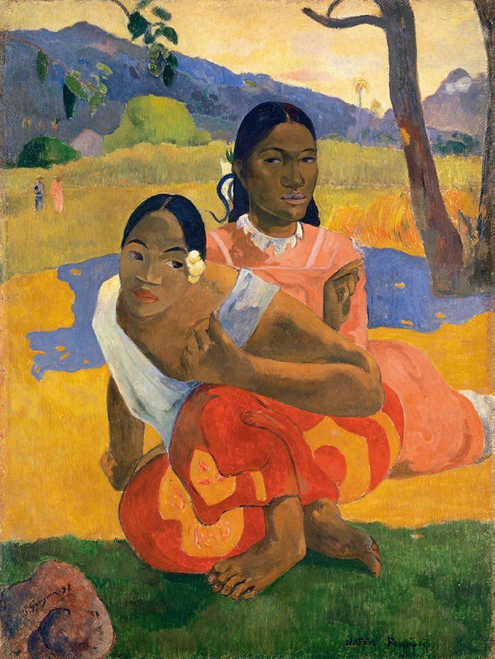 """""""¿Cuándo te casarás?"""", de Paul Gauguin"""