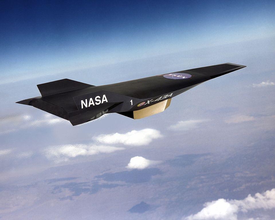 Scramjet X-43A de la NASA