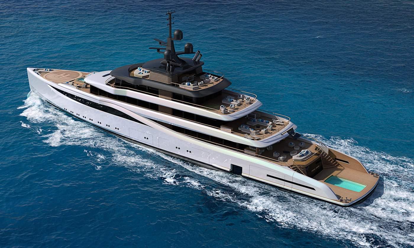 El nuevo concepto de superyate Slipstream de Nauta Design es simplemente impresionante