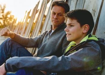 Padre e hijo, pasar tiempo juntos