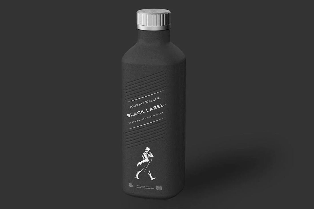 Johnnie Walker presenta una botella ecológica de edición limitada para el 2021