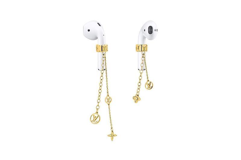 Los pendientes para auriculares con monograma de oro de Louis Vuitton por 350 dólares son una decepción