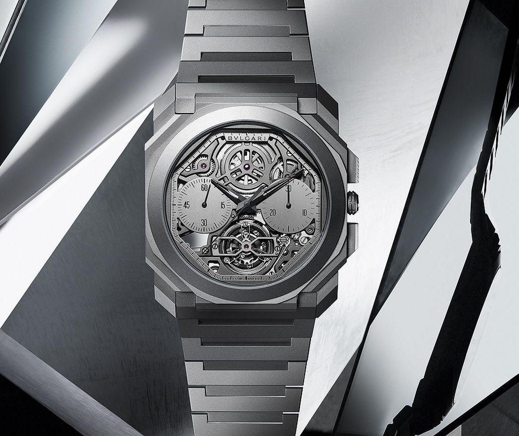 Este reloj Bulgari de $142.000 es el cronógrafo Tourbillon más delgado del mundo; es aún más delgado que un Apple Watch