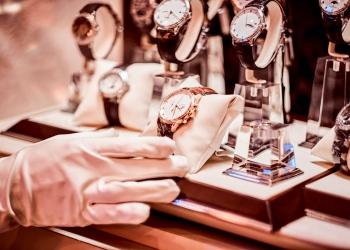 Colección de relojes de lujo