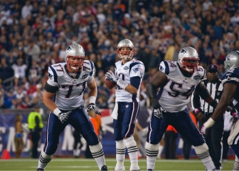 Quarterback de los New England Patriots, Tom Brady