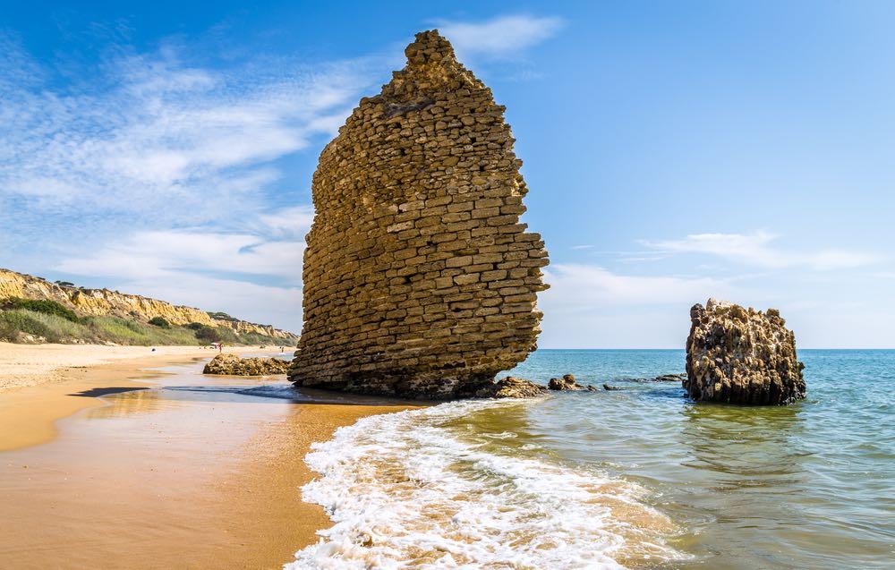 Playa de la Torre del Loro en el Parque de Doñana (Mazagón, Huelva).