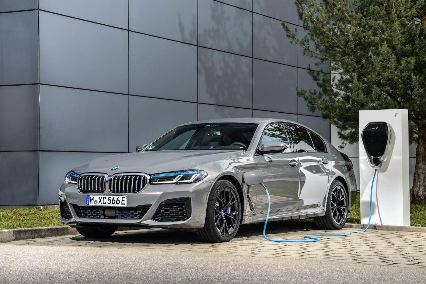El nuevo BMW 545e xDrive Berlina