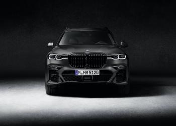 El nuevo BMW X7 Dark Shadow Edition