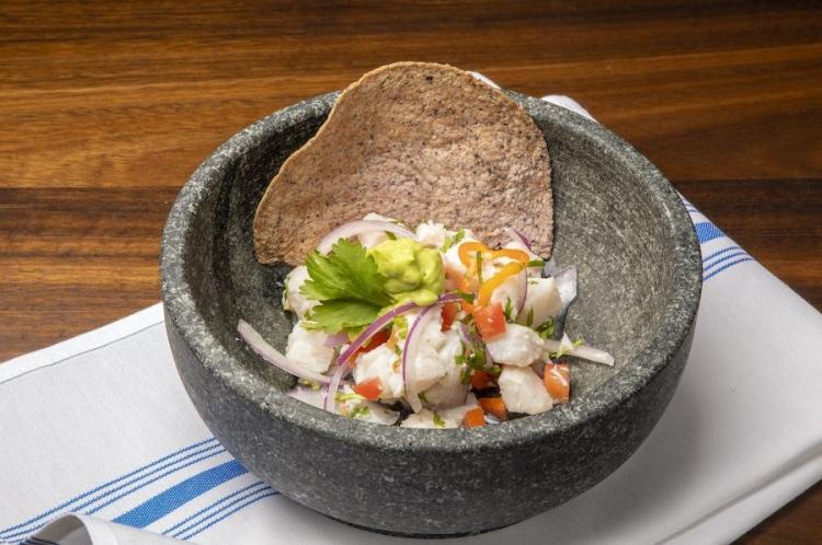 Restaurante Bakan en Wynwood: Ceviche Bakan