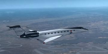 Gulfstream avanza en el programa de pruebas de vuelo del G700