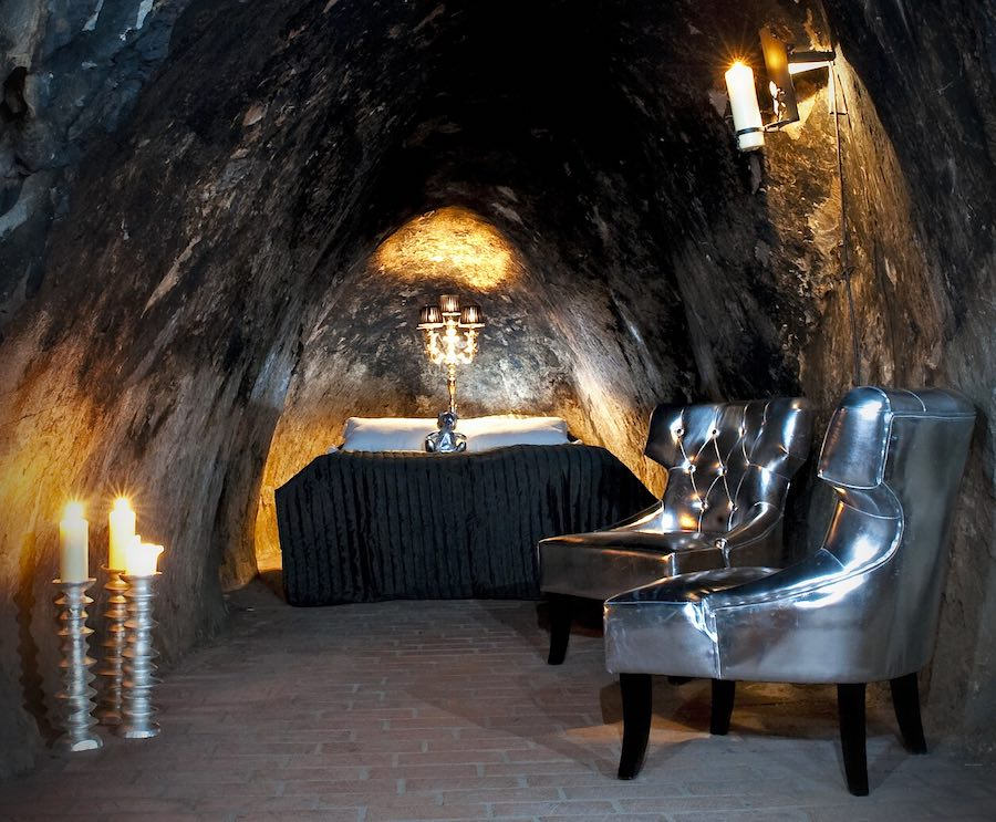 Sala Silvermine Hotel Suite: Uno de los hoteles de lujo más exclusivos del mundo.