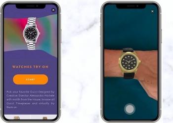 Ahora te puedes probar relojes virtualmente con la aplicación de Gucci para Smartphones
