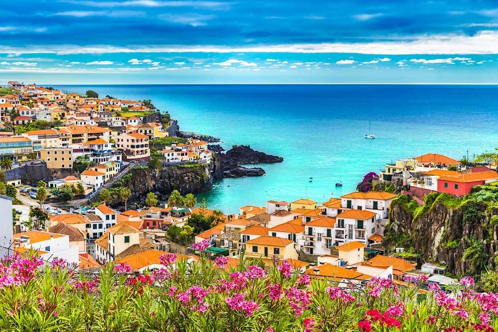 Camara de Lobos, isla de Madeira, Portugal