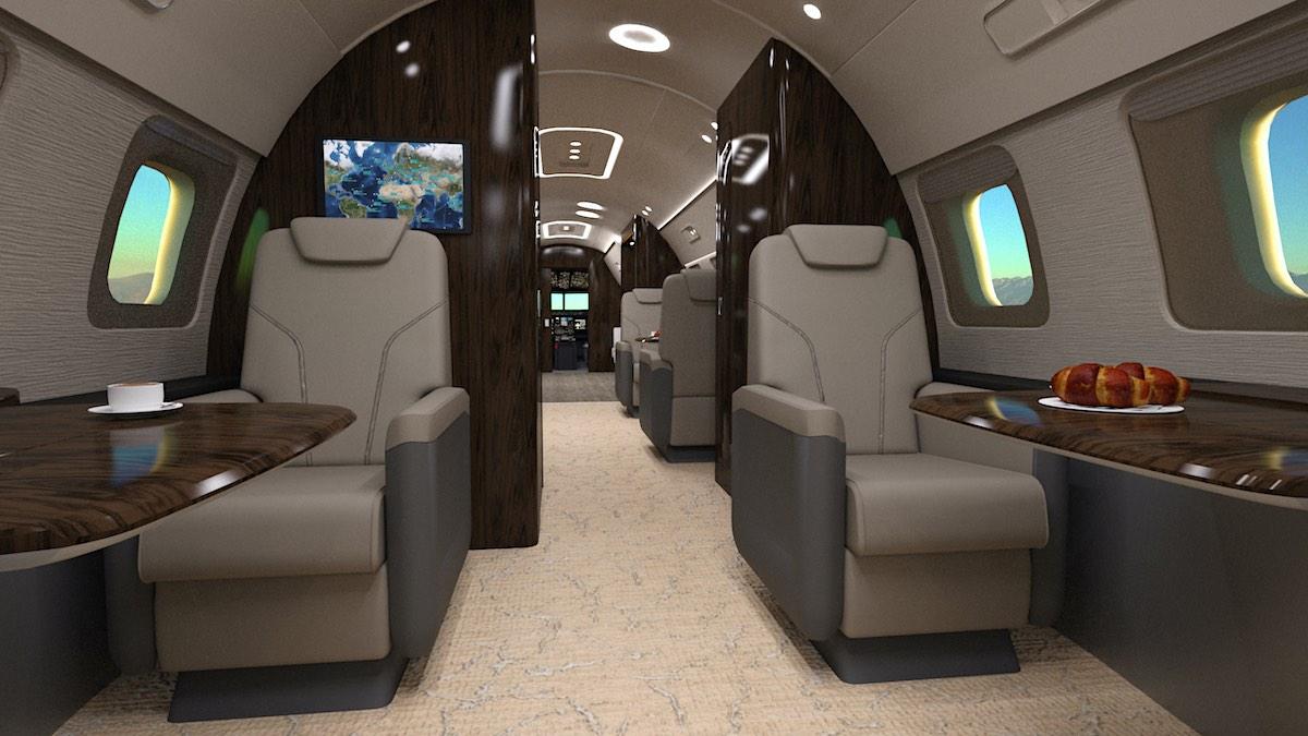 ¿Estás pensando en alquilar un jet privado? Esto es lo que cuesta un vuelo VIP