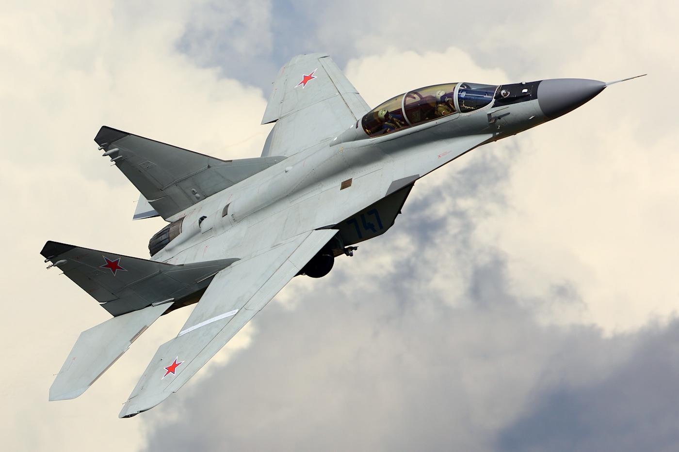 A la venta un avión de combate MiG-29 fabricado por la Unión Soviética y certificado para volar en Estados Unidos