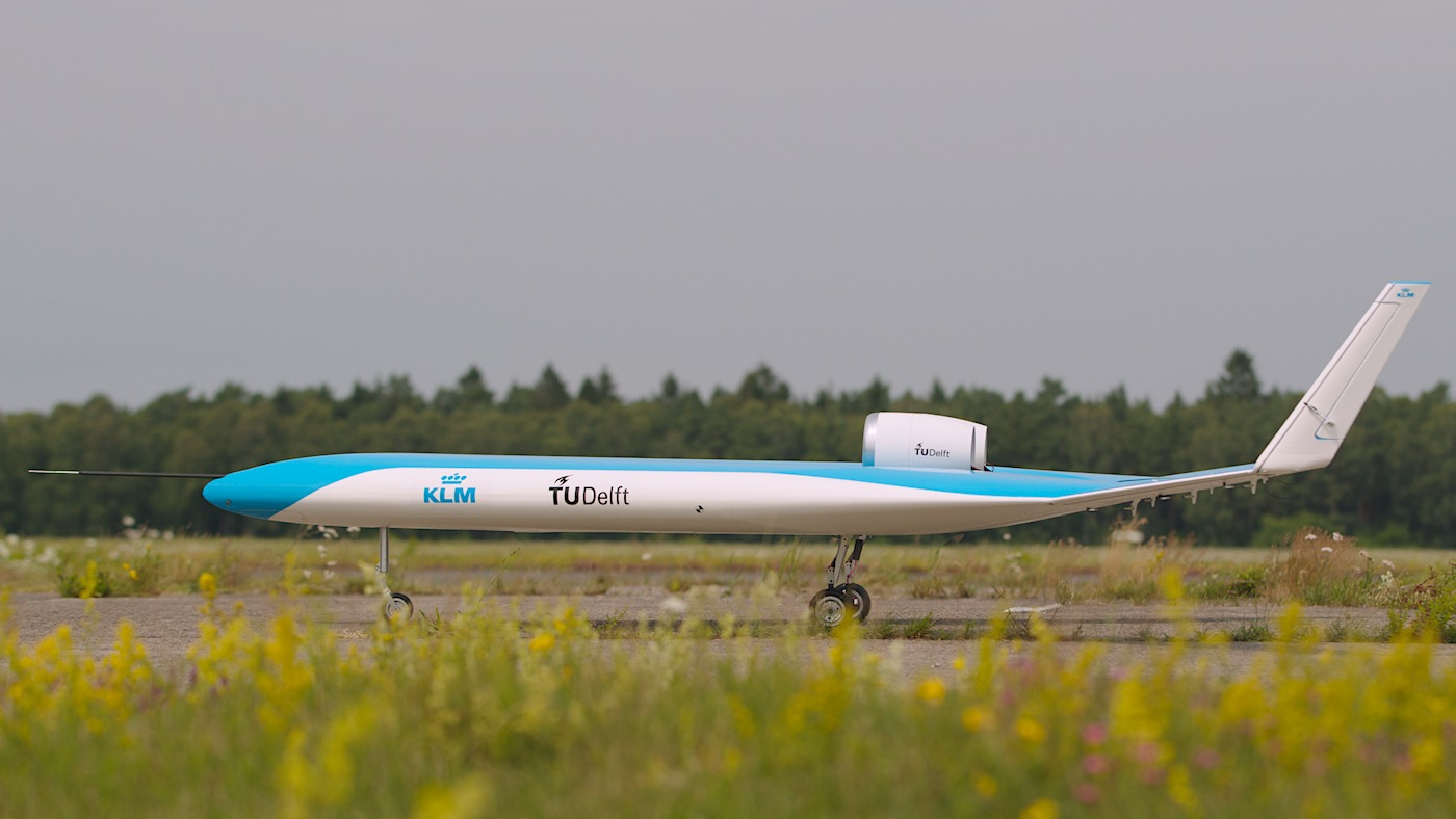 KLM y TU Delf presentan exitosamente el primer vuelo del Flying-V