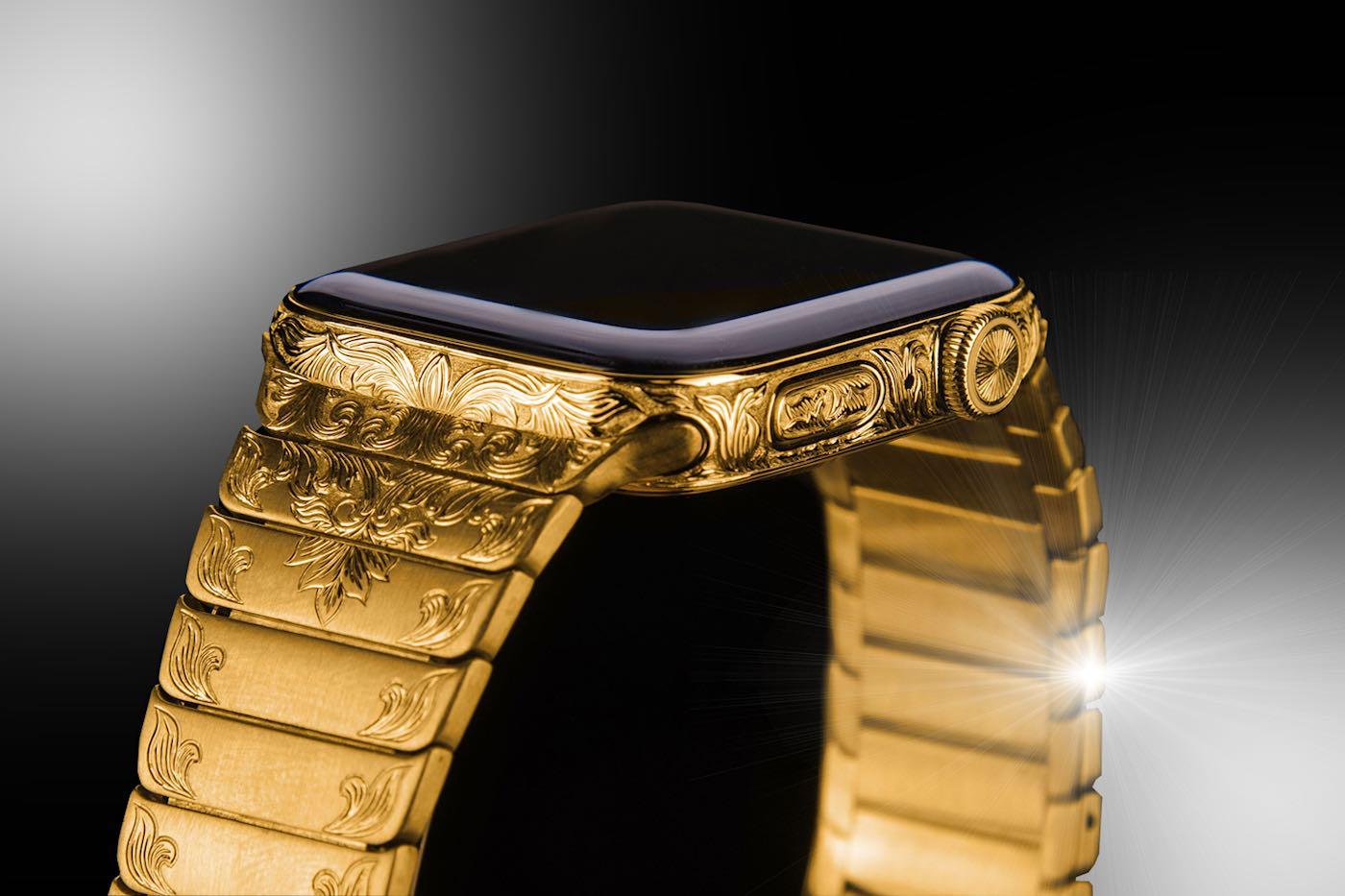 Ahora puedes preordenar un reloj Apple SERIES 6 Superior Edition personalizado en oro de 24 quilates por $7.800