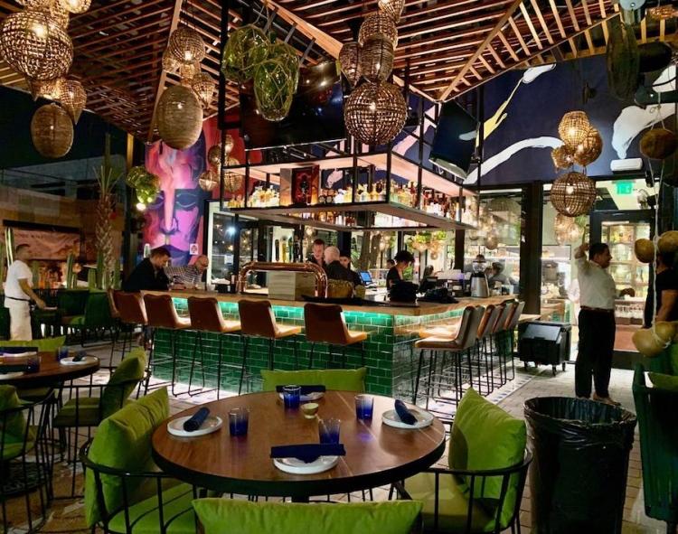 Restaurante Bakan en Wynwood
