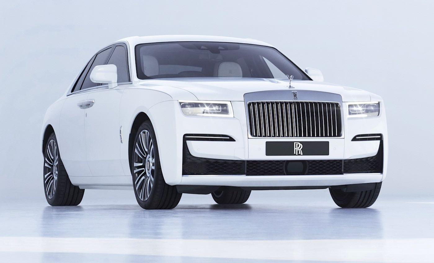El nuevo Rolls-Royce Ghost 2021 es ahora el más avanzado tecnológicamente