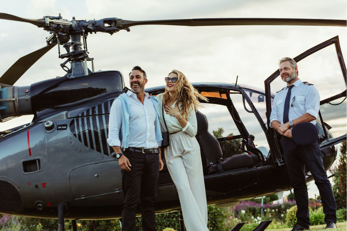 Mandarin Oriental lanza una experiencia en helicóptero '5-estrellas' entre el Lago de Ginebra y Lago de Como