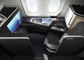 Suites de primera clase de British Airways
