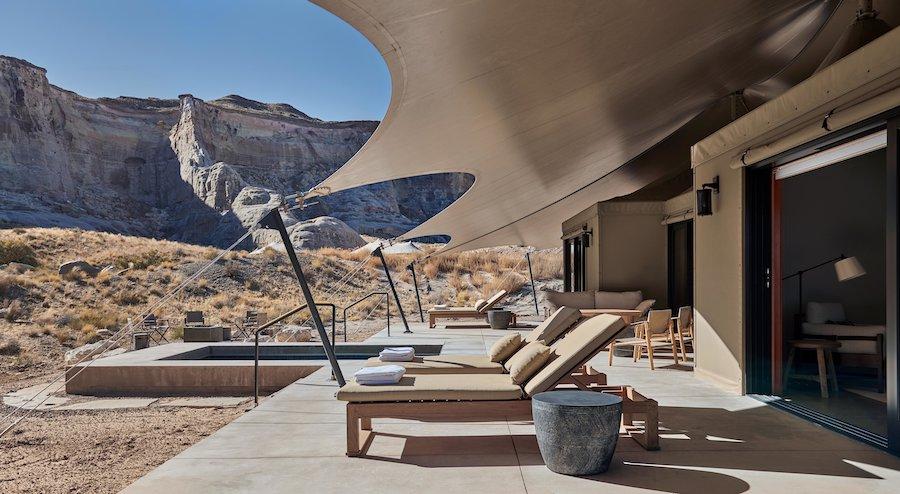 Camp Sarika by Amangiri, una experiencia de glamping única en Utah