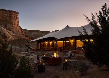 Camp Sarika by Amangiri, la experiencia glamping más lujosa de Estados Unidos