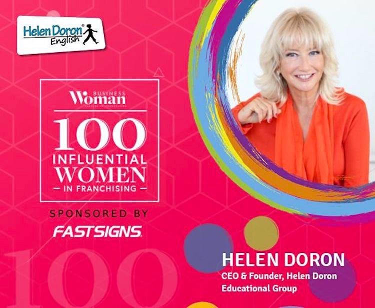 Helen Doron, nombrada cuarta mujer más influyente en el mundo de las franquicias durante el año 2020