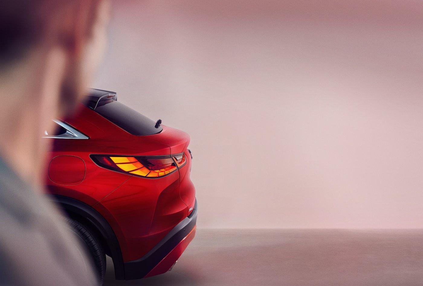 INFINITI QX55: El nuevo coupé de la marca hará su debut global el próximo 11 de noviembre