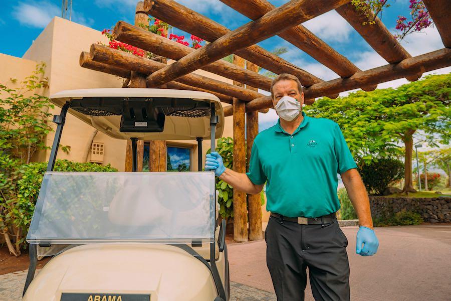 En su liderazgo juegan un papel determinante los complejos deportivos Abama Golf y Abama Tennis Academy